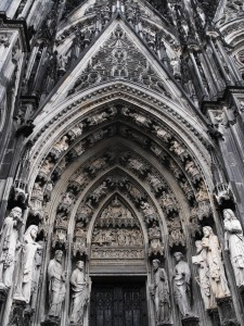 Facade of Cologne Cathedral