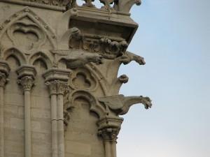 Gargoyles Statue Notre Dame de Paris