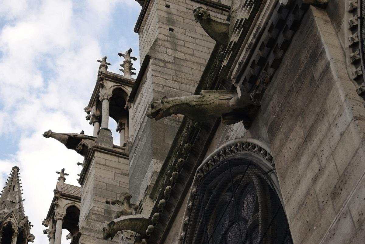 Notre Dame Cathedral Gargoyles Notre Dame de Paris Hi...