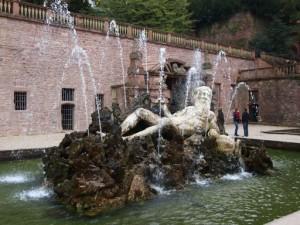 Heidelberg Castle Hortus Neptune Statue