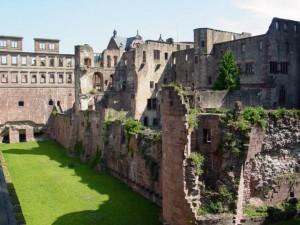 Heidelberg Castle Inside