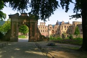 Heidelberg Castle Main Entrance