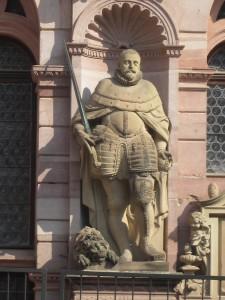 Heidelberg Castle Statue