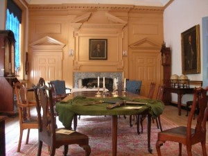 Independence Hall Governor's Council Chamber