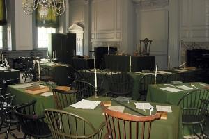 Independence Hall Interior