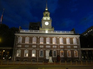 Independence Hall at Night