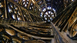 Inside View of Cologne Cathedral South Tower