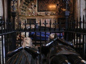 Inside Westminster Abbey Tombs