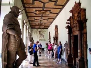 Interior Coorridor of the Castle