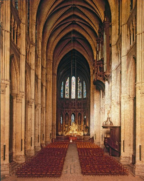 Image result for chartres interior