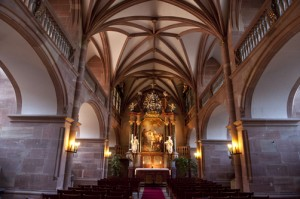 Interior of the Church at Heidelberg Castle