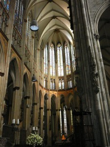 Interior of the Medieval East of the Cathedral