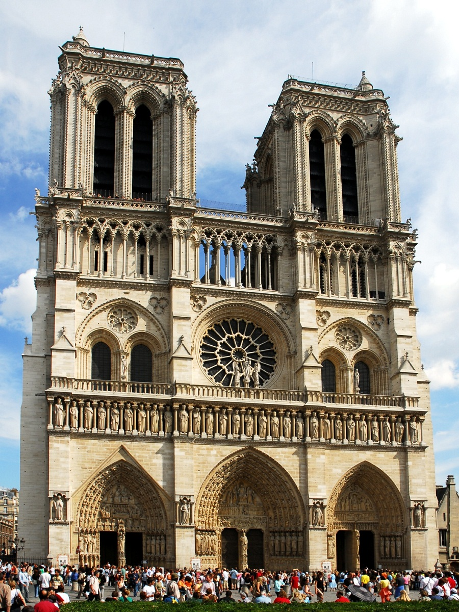 notre dame de paris historical facts and pictures the history hub. Black Bedroom Furniture Sets. Home Design Ideas