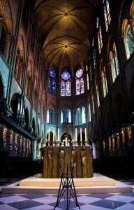 Notre Dame de Paris Inside