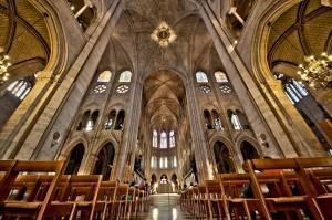 Notre Dame de Paris Interior