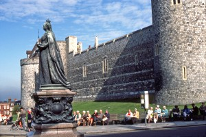 Queen Victoria Statue Windsor Castle