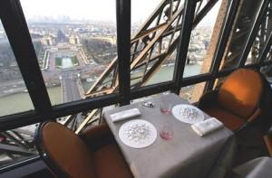 Restaurant Inside of Eiffel Tower