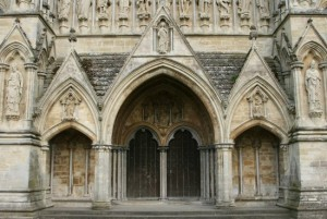 Salisbury Cathedral Entrance