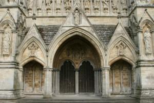 Salisbury Cathedral Entrance