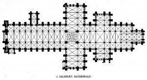 Salisbury Cathedral Plan