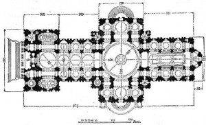 St. Paul's Cathedral Plan
