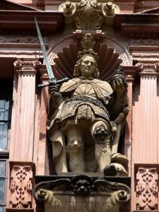 Statue of Heidelberg Castle