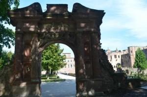 The Elizabeth Gate of Heidelberg Castle