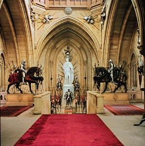 The Grand Staircase of Windsor Castle