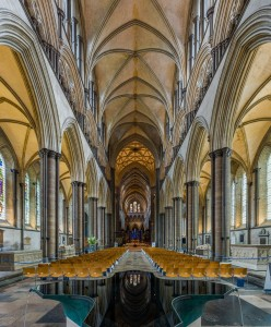 The Nave of Salisbury Cathedral