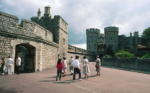 The North Entrance of Windsor Castle