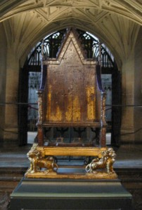 Westminster Abbey King Edward's Chair