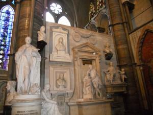 Westminster Abbey Poets Corner