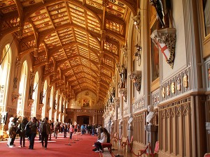 Windsor Castle St George's Hall