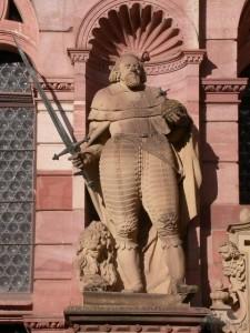Wolfstein Statue at Heidelberg Castle