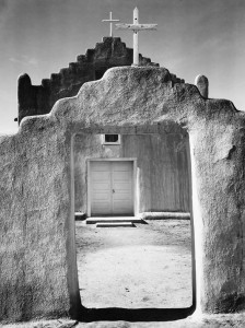 Ansel Adams Church Taos Pueblo
