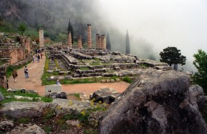 Apollo Temple of Delphi