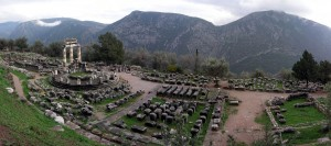 Athina Pronaia Sanctuary at Delphi