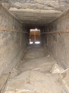 Bent Pyramid Outer Door View