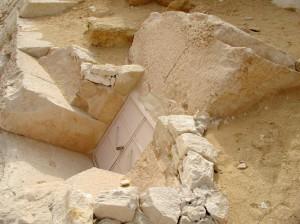 Bent Pyramid Satellite Entrance