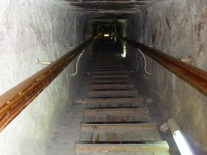 Climbing Inside the Great Pyramid of Giza