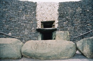 Entrance of Newgrange