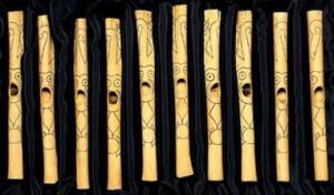Flutes at Caral