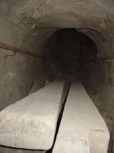 Inside Bent Pyramid