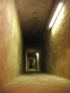 Inside Pyramid of Khafre