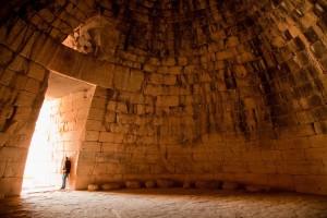 The Treasury of Atreus, Mycenae, Greece