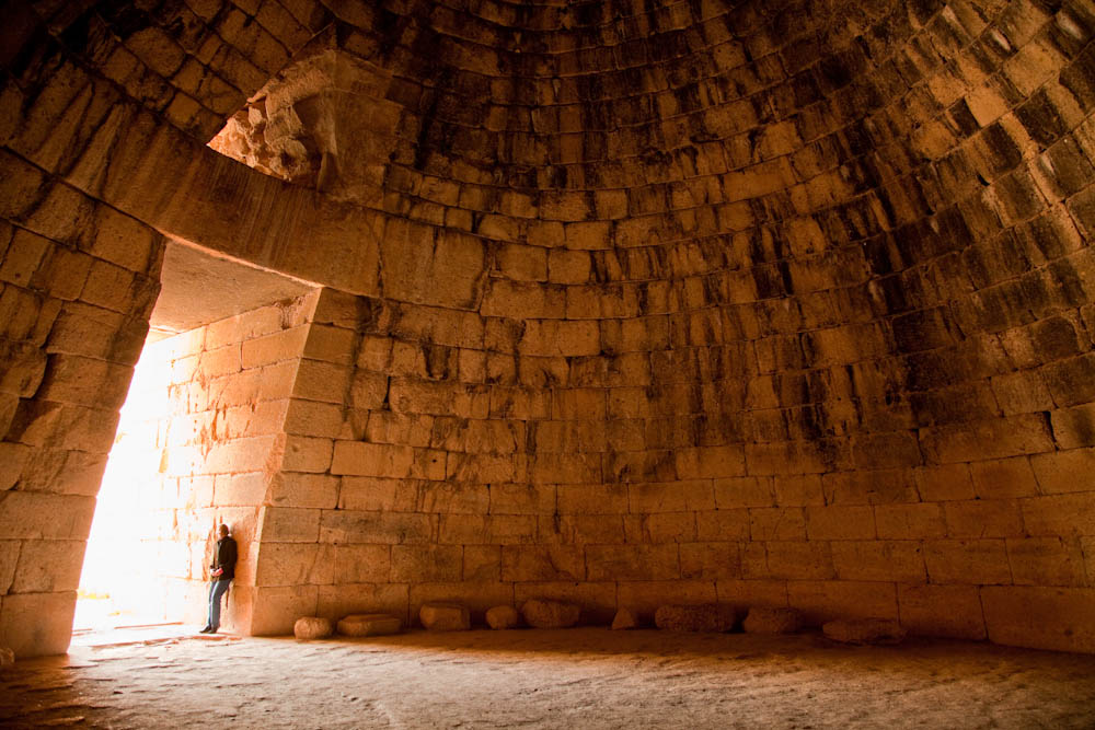 Treasury Of Atreus Facts Pictures on Concentric Circles