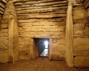 Inside of Maeshowe