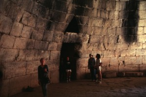 Inside of Treasury of Atreus