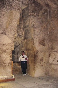 Interior of Great Pyramid of Giza