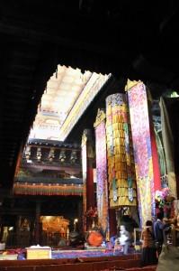 Jokhang Interior